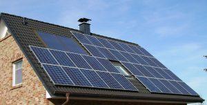 panele słoneczne na domu